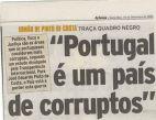 PORTUGAL - CORRUPTO E PODRE (P)